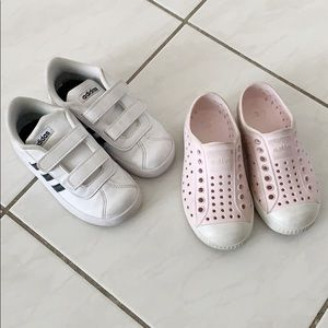 Toddler Shoe Bundle - Native & Adidas